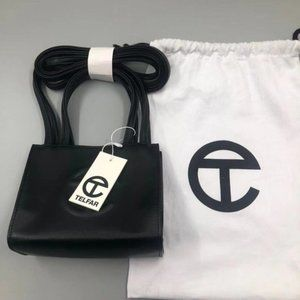 New💖 Telfar💖Small Black Shopping Bag 17w*13d*8h